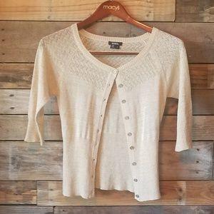 XOXO sweater.